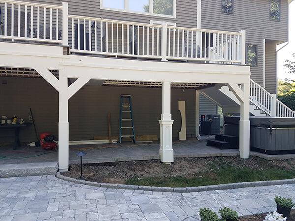 Custom Home Deck