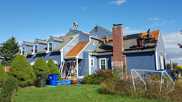 Ongoing Roof Replacement