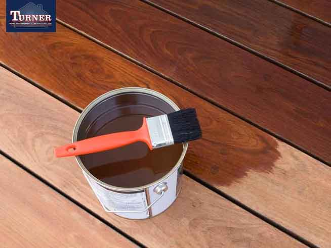 Is It Better To Paint Or Stain A Deck Turner Home Improvement